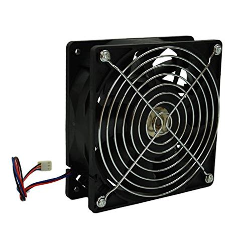 3 wire cpu fan highfine 12cm 120mm 200cfm 4000rpm cpu fan
