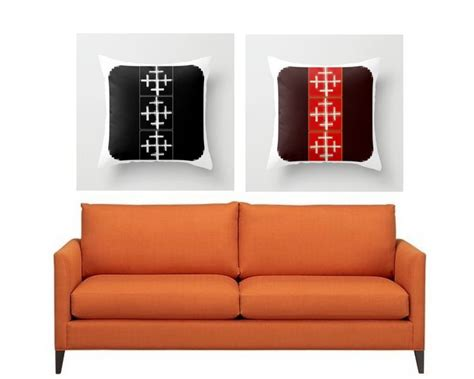 orange pillows for sofa 617 best awesome pillows images on pinterest