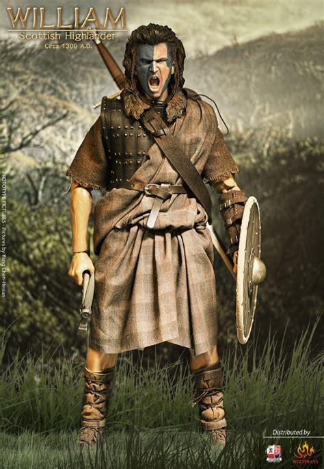 scottish highlander warrior kaustic plastik william scottish highlander 1300 ad