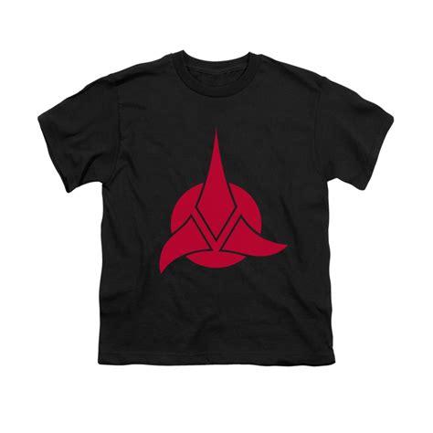 Logo Trek T Shirt trek klingon logo youth t shirt