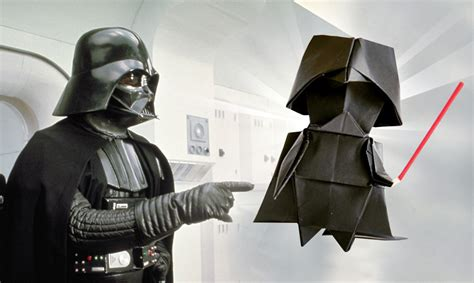 Wars Origami Darth Vader - wars test tipps news release termin