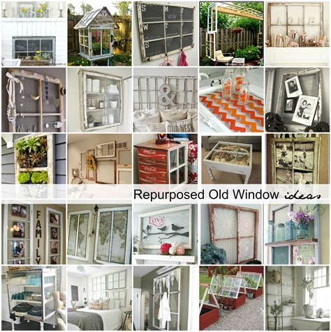 ideas for home repurposed old window ideas the idea room