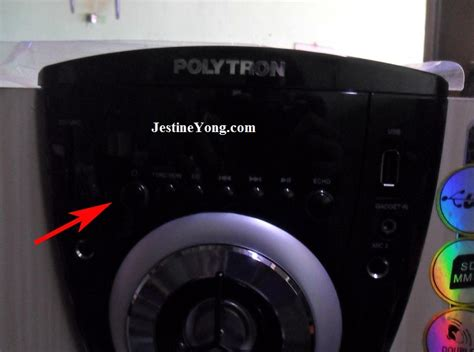 Speaker Box Polytron pin polytron on