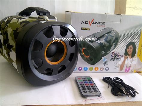 Speaker Advance Tp700 Bluetooth speaker advance tp 700 traveling jogjacomcell toko gadget terpercaya