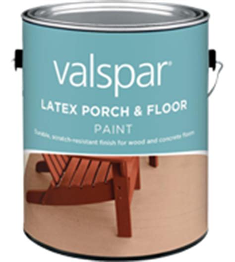 valspar 174 porch floor paint non glare low sheen paint gives floors tough lasting