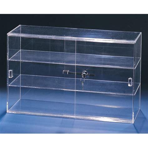 counter top acrylic sliding 3 shelves