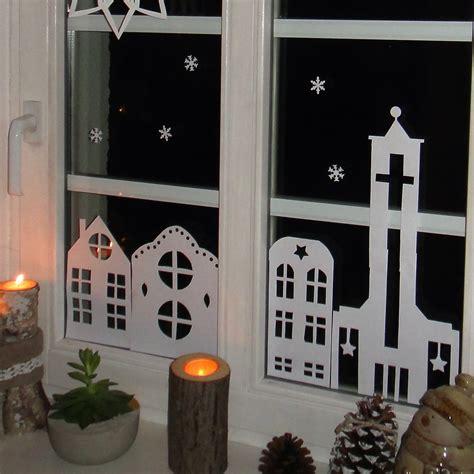 Fensterdekoration Weihnachten Mit Vorlagebö by Ines Felix Kreatives Zum Nachmachen Weihnachts