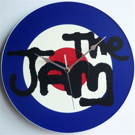 Jam Records The Jam Collection 12 Lp Vinyl Record Wall Clocks The Records Ticking