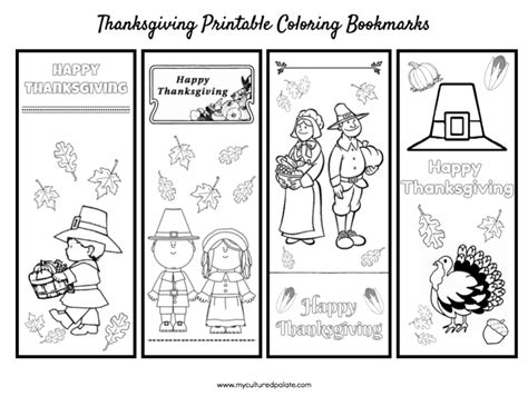printable turkey bookmarks free thanksgiving activity set bookmarks puzzles place
