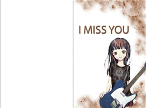 free printable greeting cards miss you i miss you greeting cards cute printables