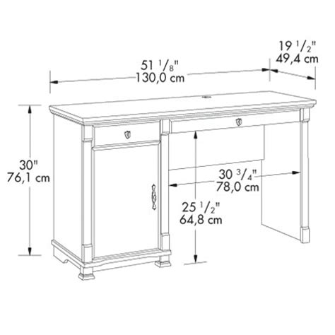 typical desk size standard computer desk dimensions woodideas