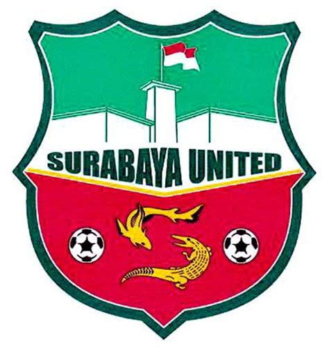 inilah logo klub surabaya united  mirip barcelona
