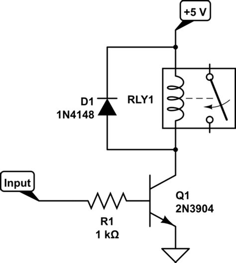 transistor relay driver circuit problem with relay current requirement and how to increase current in dc circuit electrical