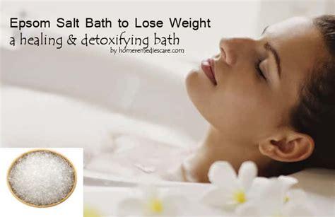 Epsom Salt Bath Detox Lose Weight by Amazing Epsom Salt Bath To Lose Weight How To Take One