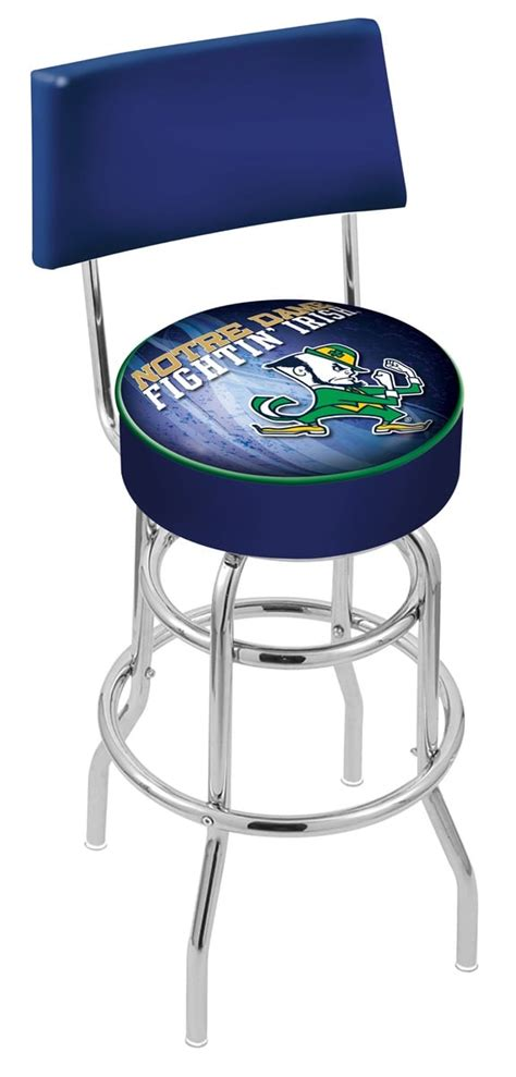 Notre Dame Bar Stools by Notre Dame Leprechaun Bar Stool W Official College Logo