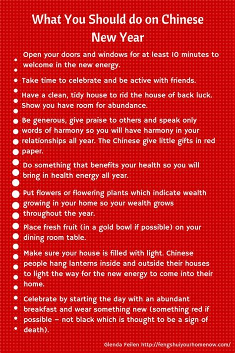 how to celebrate new year feng shui your home now