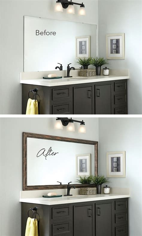 Bathroom Wall Mirror Ideas by 25 Best Ideas About Bathroom Mirrors On
