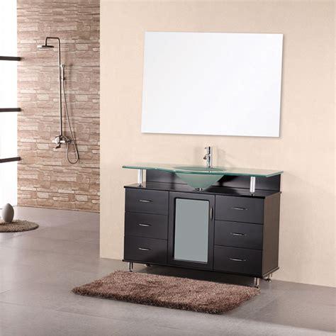 Design Element Bathroom Vanities Design Element Cascade 48 Quot Single Bathroom Vanity