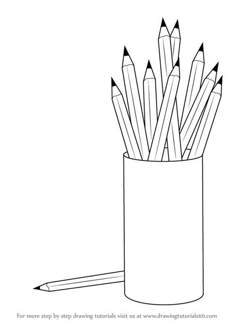 photo to pencil sketch learn how to draw a pencil box with pencils everyday