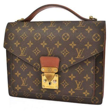 louis vuitton monogram briefcase ebay