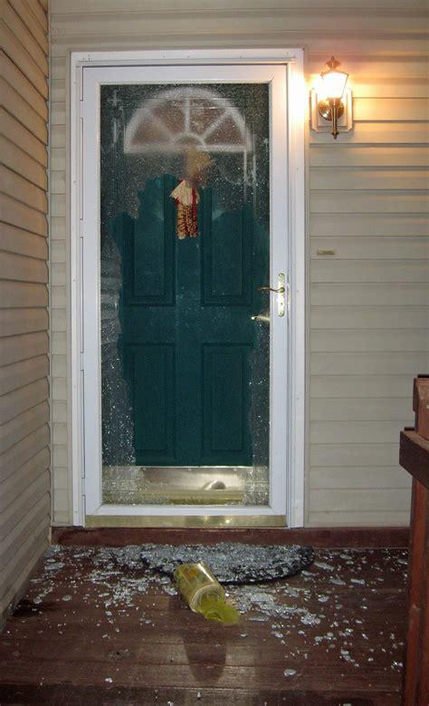 Glass Door Broken Newspaper Broken Door Glass Shooting From The Hip