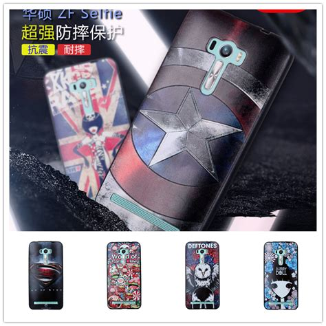 Tpu Anti Mirror For Asus Zenfone Zc520 lovely 3d pattern sculpture tpu cases luxury silicone phone for asus zenfone selfie zd551kl