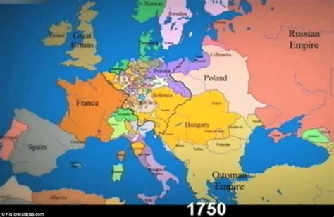 map world powers in 12 century time lapse shows constantly changing borders in