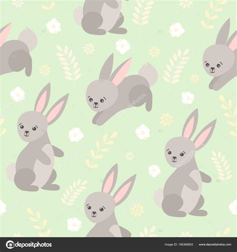 cartoon forest animals giraffe pattern baby girl clothes a cute baby pattern with little bunny cartoon animal