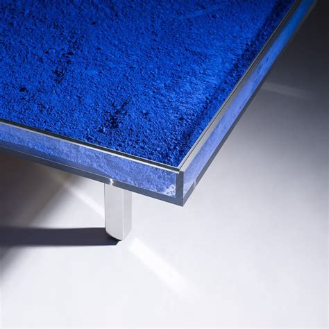 Yves Klein Coffee Table Klein Blue Table By Yves Klein For Sale At 1stdibs
