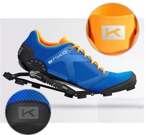 shoes with springs put a literal in your step with the enko shoes