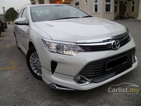 2016 Toyota Camry 2 5 G At toyota camry 2016 g 2 0 in selangor automatic sedan white
