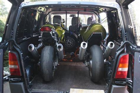 V Klasse Motorradtransport by Mopped In V Klasse Vito Racing4fun De