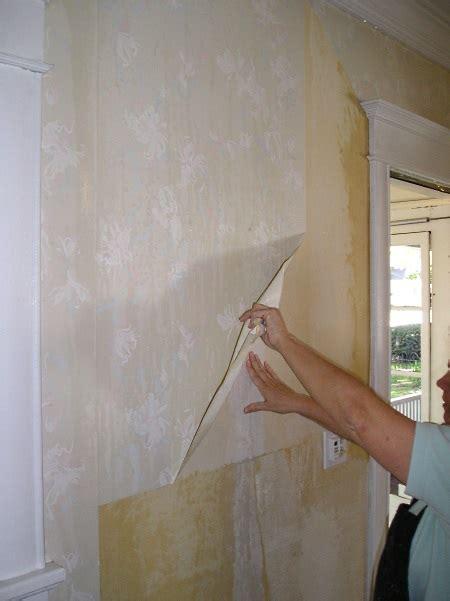 remove vinyl wallpaper  practical house