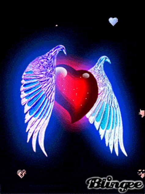 imagenes de corazones emos coraz 243 n con alas picture 126837072 blingee com