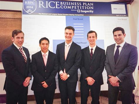 Business Plan Competitions Mba by Innoblative Wins S Health Prize At Rice Business