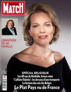 la reine mathilde de belgique couverture match