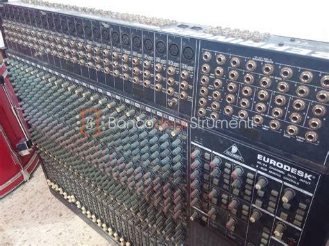 Mixer Behringer Mx 8000 behringer mx8000 mixer analogico 48 canali usato banco