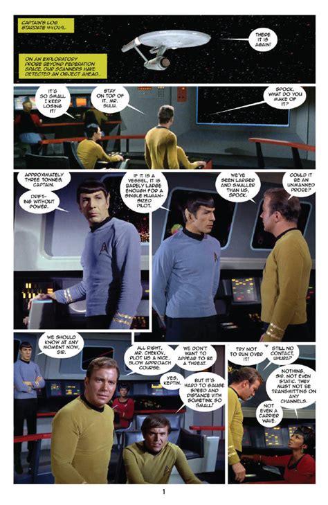 Trek New Visions Volume 1 comic review trek new visions special the trekmovie
