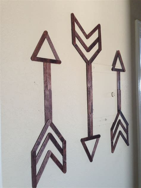 stick things to wall popsicle stick wall festoon and frill