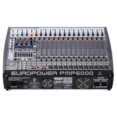 Jual Mixer Behringer Xenyx 1002fx jual behringer europower pmp6000 20 channel powered mixer