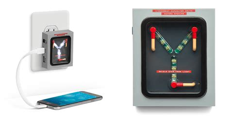 capacitor to battery charger this back to the future flux capacitor charger lights up when your phone s battery hits 88