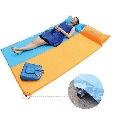 bed roll pillow self inflate cing mat inflatable pillow sleeping bag