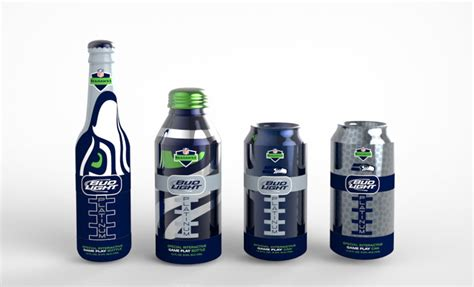 bud light football cans student bud light platinum game play the dieline