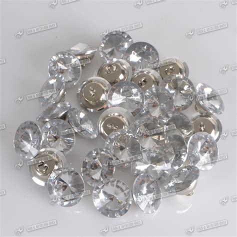 upholstery buttons for tufting 100x 20mm crystal rhinestone diamante button tufting