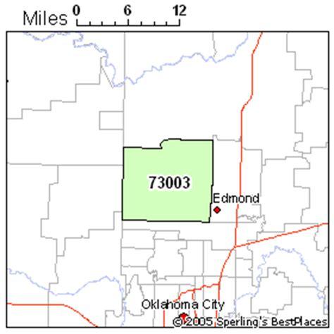 zip code map edmond ok best place to live in edmond zip 73003 oklahoma