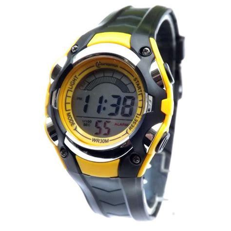 montre enfant digital quartz etanche chrono sport achat vente montre cdiscount