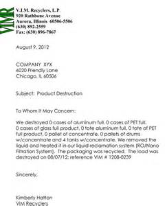 Certification Of Destruction Letter Data Destruction Certificate Sample Pictures To Pin On Pinterest Pinsdaddy