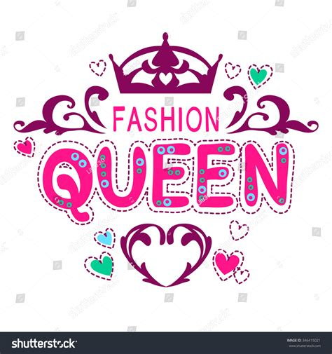 glamour vector girlish print fancy fashion stock vector