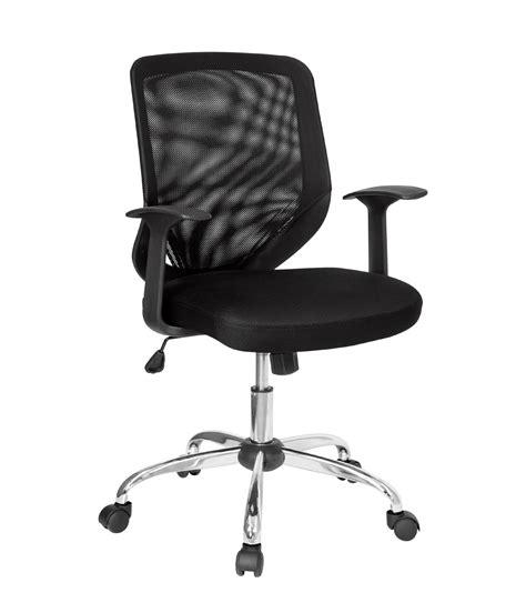 Flash Furniture Mid Back Black Mesh Computer Chair by Mid Back Black Mesh Office Chair By Flash Furniture Desk