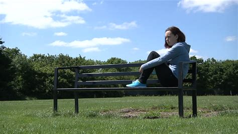 sitting on a park bench lyrics teenage girl sending sms text whilst sitting in a park